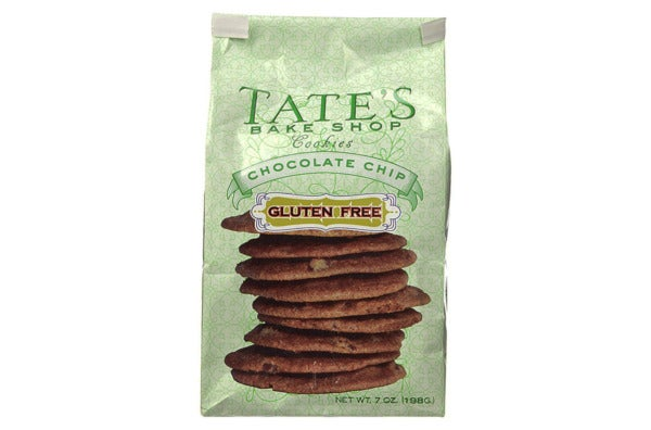 Tate's Bake Shop Gluten Free Chocolate Chip Cookies.