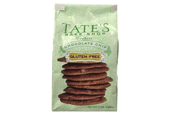 Tate's Bake Shop Gluten Free Chocolate Chip Cookies.
