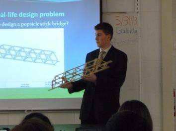 Popscicle Stick Bridge What S The Best Design