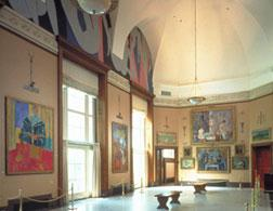 The main gallery of the Barnes Foundation. Click image to expand.