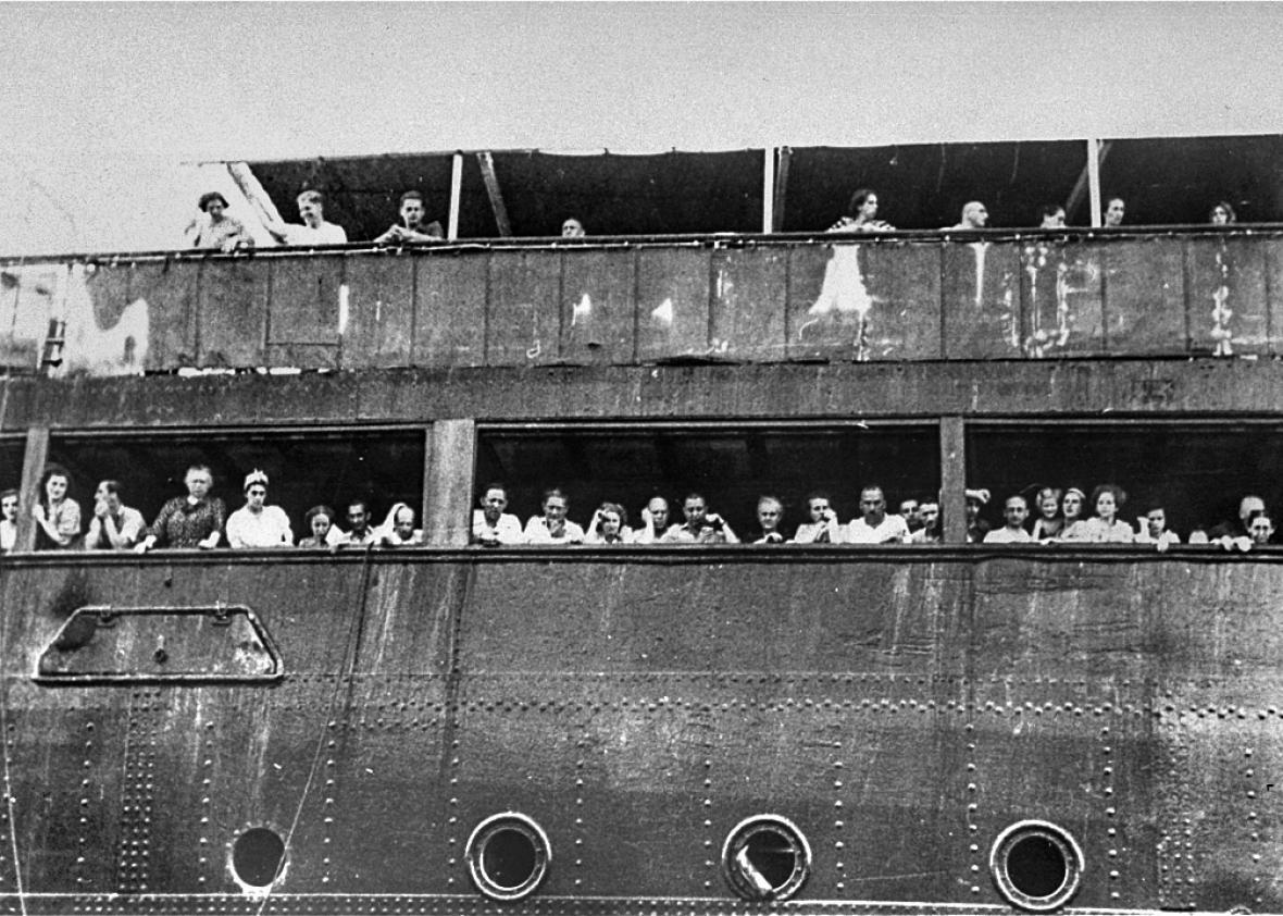 MS St. Louis set sail from Germany in 1939 carrying 937 German J,MS St. Louis set sail from Germany in 1939 carrying 937 German Jewish refugees.
