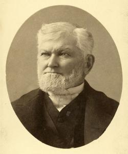 Wilford Woodruff in 1889.