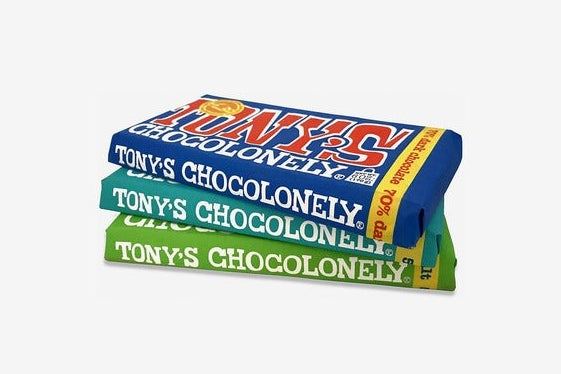 Tony's Chocoloney Dark Chocolate Trio