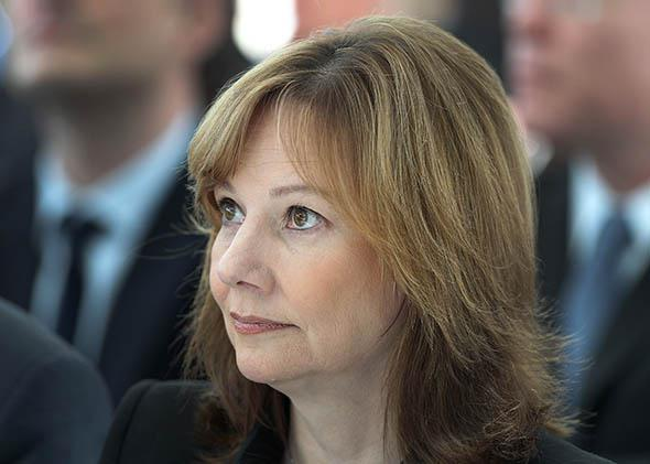 General Motors CEO Mary Barra.
