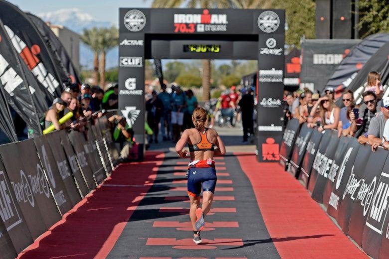 How non-elite athletes should train for triathlons