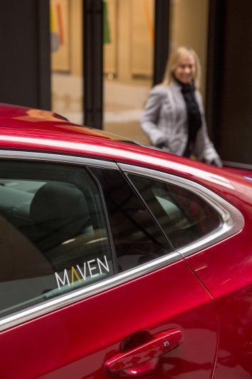 GM Maven car-sharing service