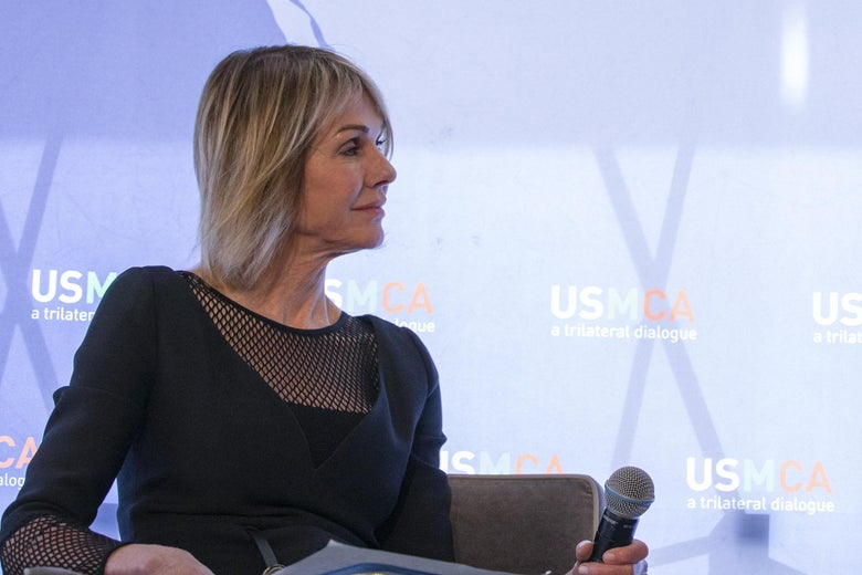 U.S. Ambassador to Canada Kelly Craft participates on a panel in Washington, D.C. on February 21, 2019.