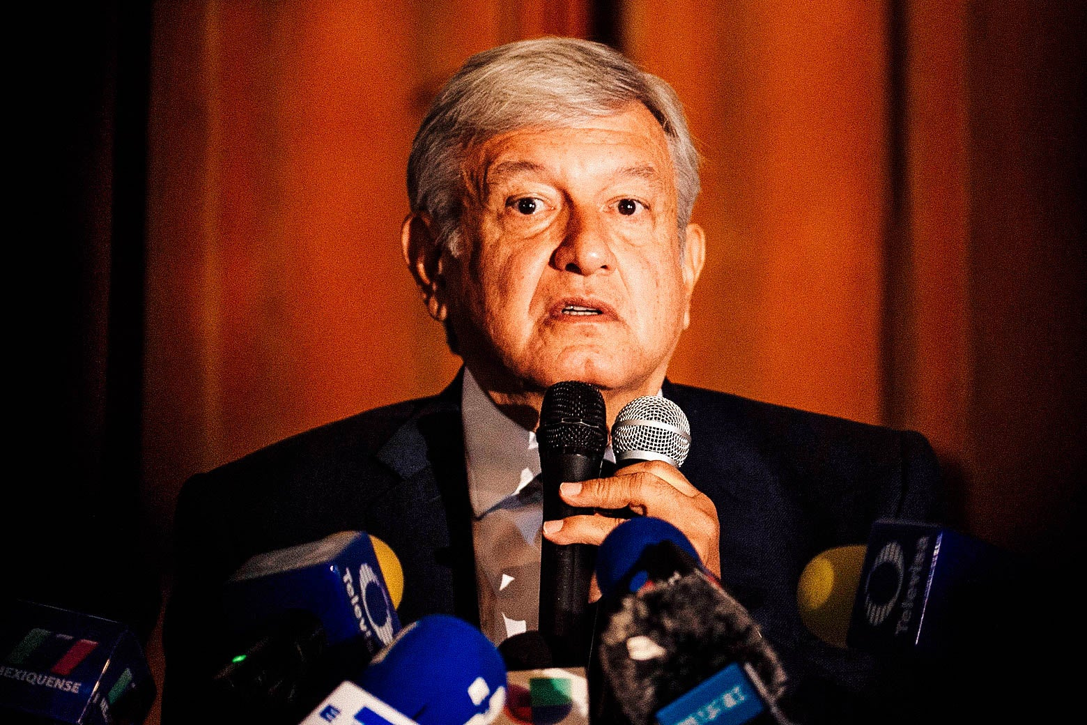 Mexico's President-elect Andrés Manuel López Obrador.