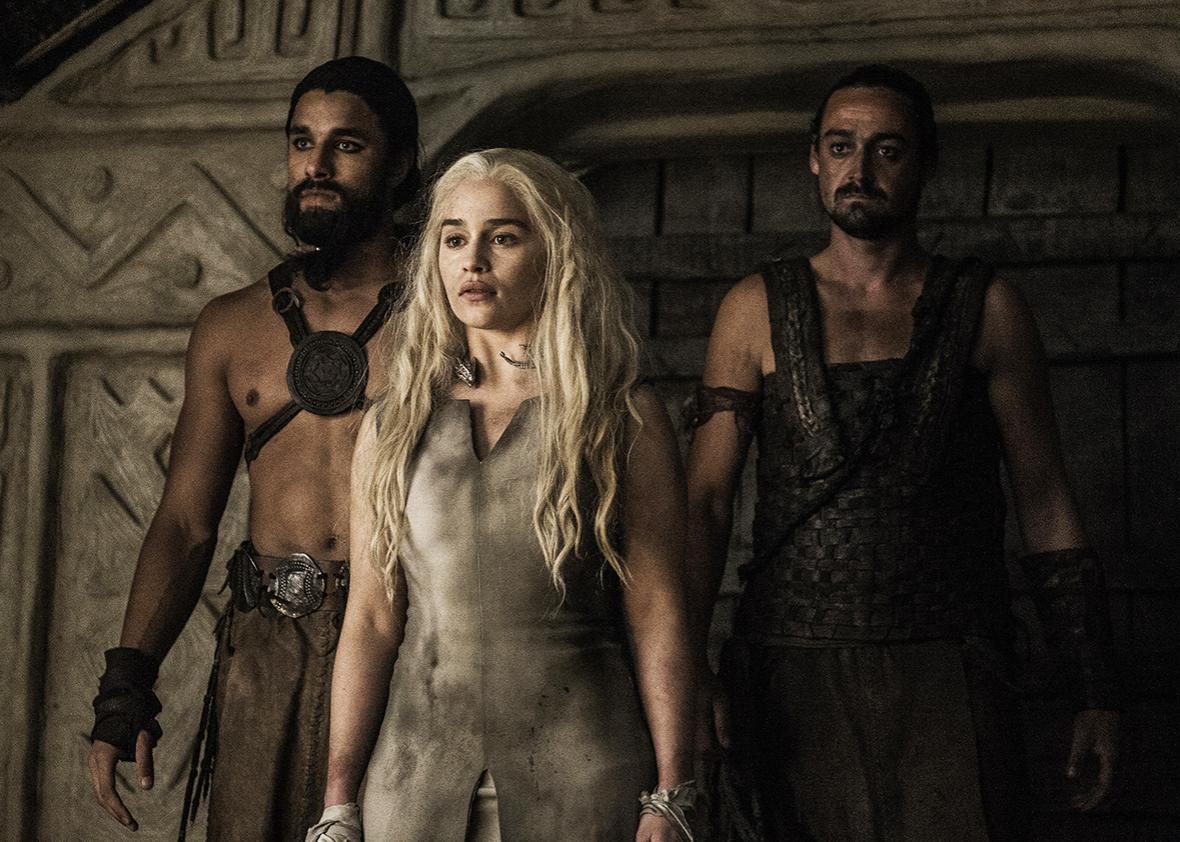 """Emilia Clarke in """"Game of Thrones""""."""