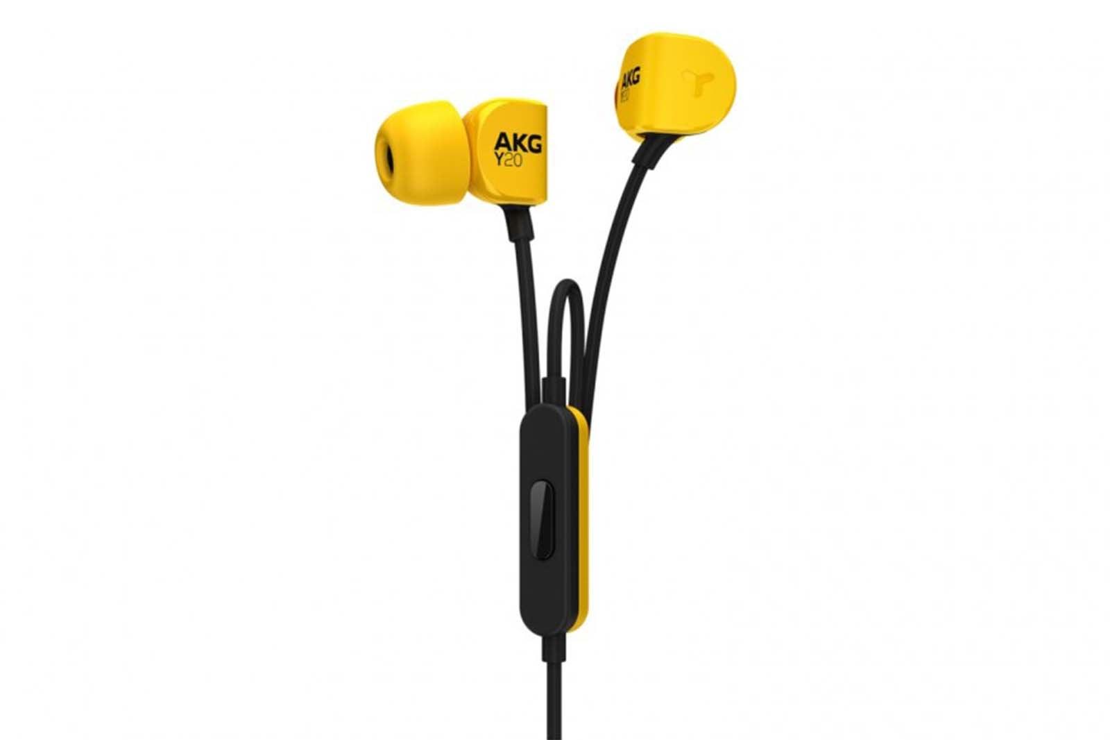 AKG Y20U Earbuds.