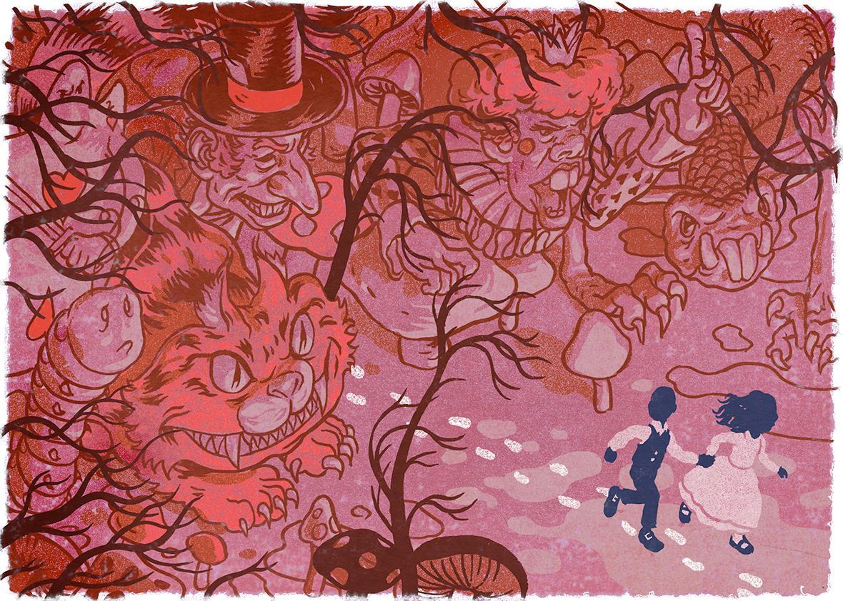 After Alice Illustration.