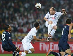 England's striker, Wayne Rooney. Click image to expand.