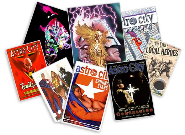 Astro City covers