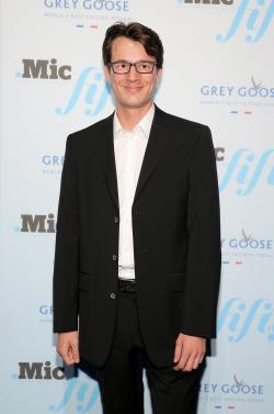 Founder of Duolingo Severin Hacker attends GREY GOOSE Vodka Hosts The Inaugural Mic50 Awards at Marquee on June 18, 2015 in New York City.