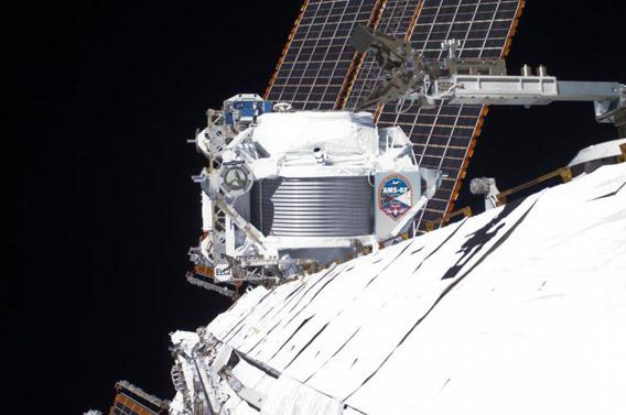 AMS on the ISS