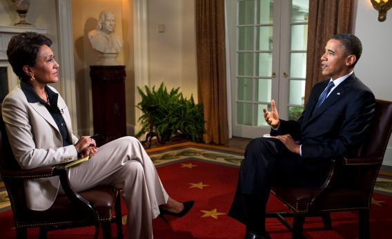 Obama interview.