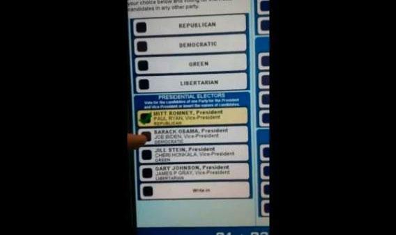 Pennsylvania voting machine