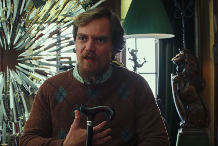 Michael Shannon in Knives Out.