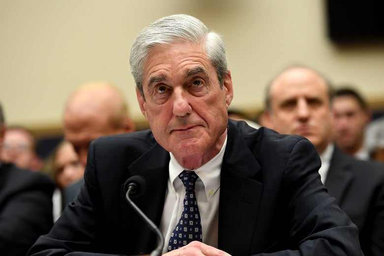 Robert Mueller during his testimony before Congress on Wednesday.