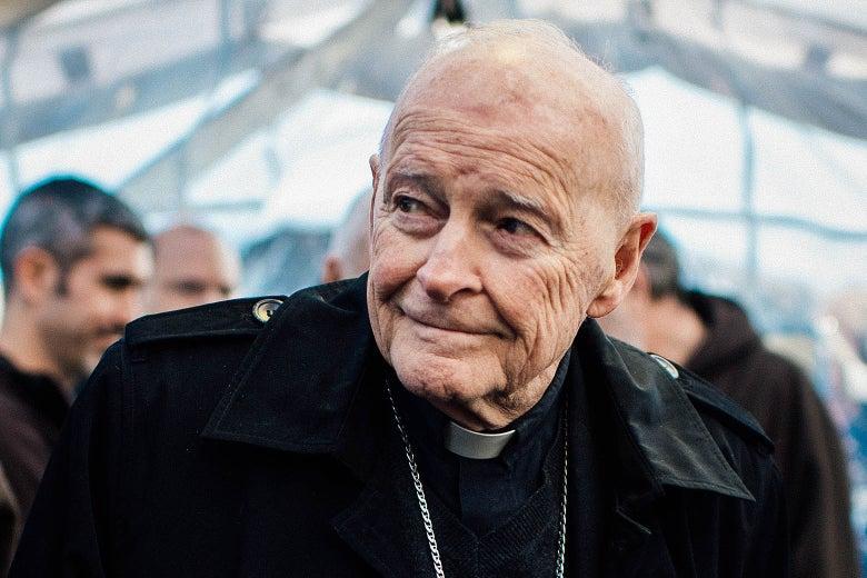 Then-Cardinal Theodore McCarrick in Washington in 2013.