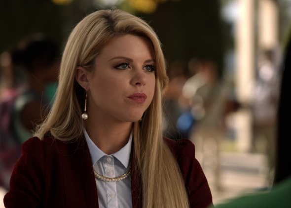 Bailey DeYoung as Lauren Cooper in Faking It