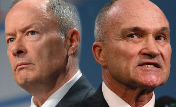 Gen. Keith Alexander & Commissioner Ray Kelly