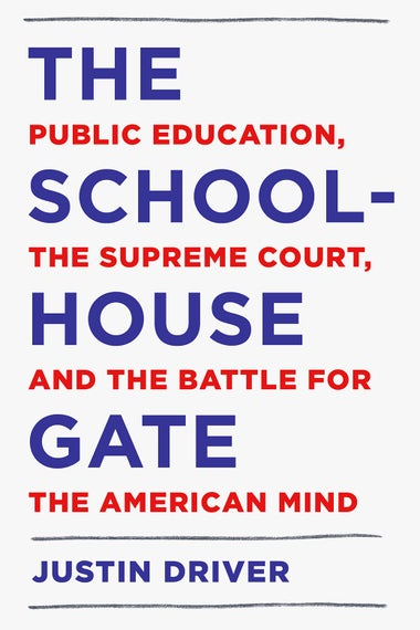 The cover of The Schoolhouse Gate.