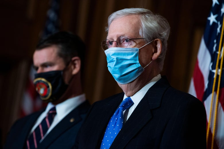 Mitch McConnell's Relief Offer Is Actually Worse Than Doing Nothing