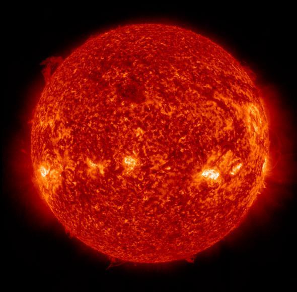 Sun at solstice 2013
