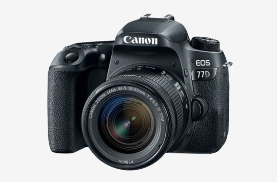 Canon EOS 77D With 18-55 mm lens.