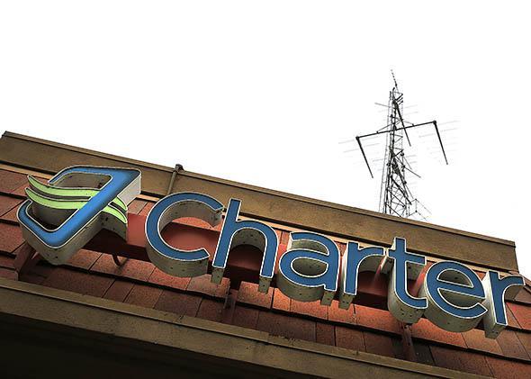 Charter office on San Fernando Road in Glendale, California, on