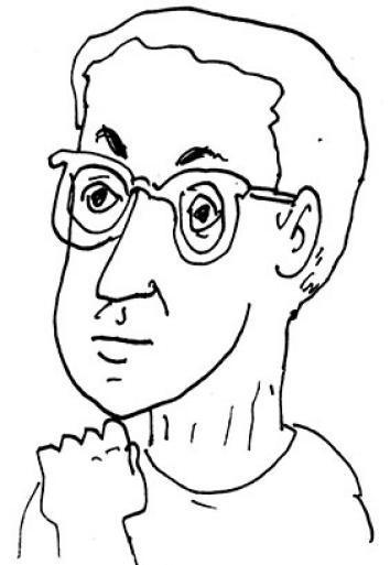 Self-portrait of Matt Freedman.