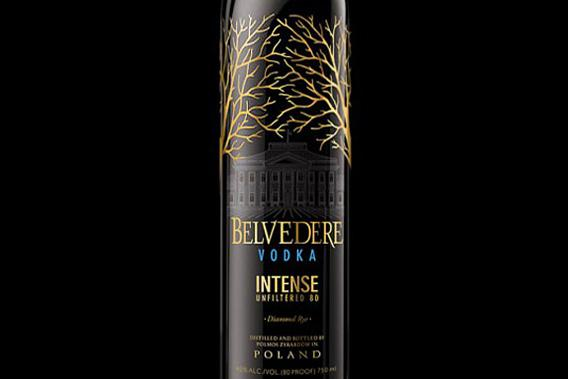 Belvedere Intense Vodka.