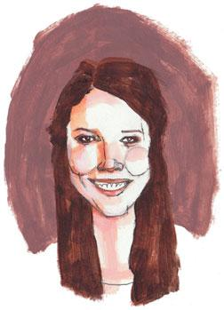 Flannery Mullins, illustration by Deanna Staffo.
