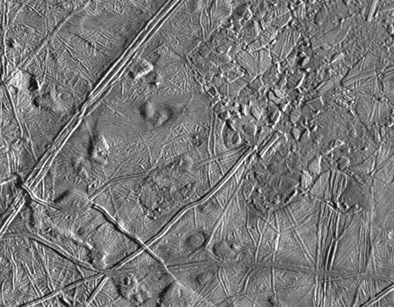 Closeup of Europa