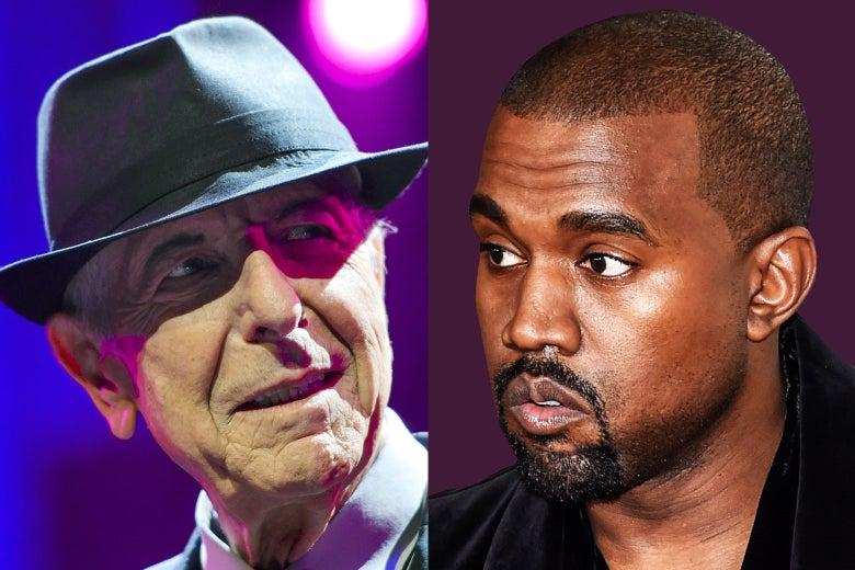 Leonard Cohen, Kanye West