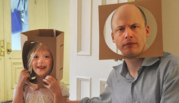 Lev Grossman on his daughter, Lily: How being a father