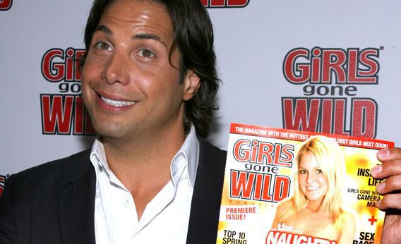 Founder and CEO of Girls Gone Wild Joe Francis arrives at the Girls Gone Wild Magazine.