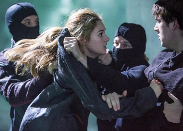 Shailene Woodley in Divergent.