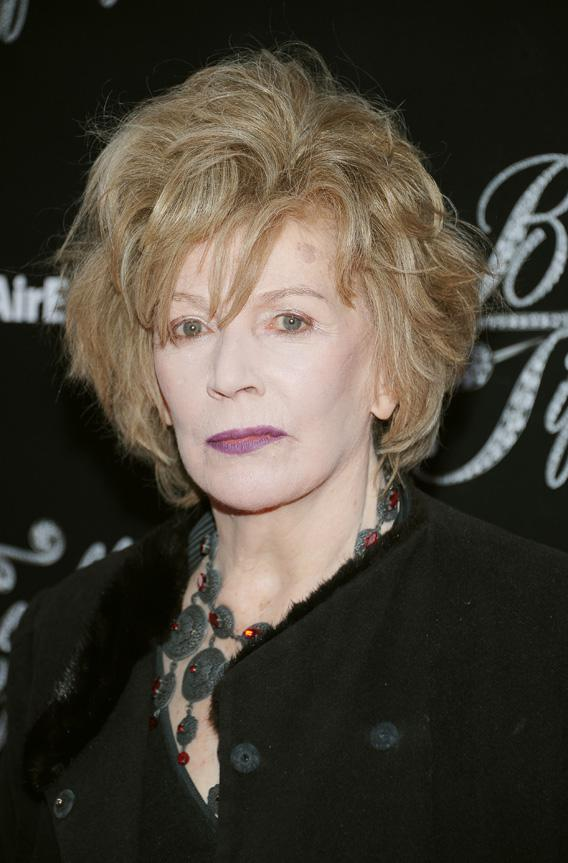 Writer Edna O'Brien attends the 'Breakfast At Tiffany's' Broadway Opening Night at Cort Theatre on March 20, 2013 in New York City.