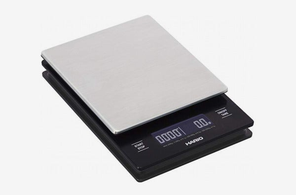 Hario Stainless Steel V60 Drip Coffee Scale, Metal.