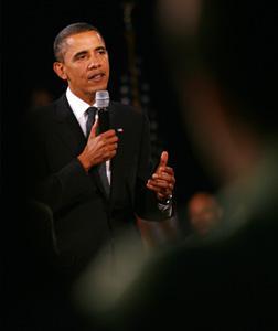 President Barack Obama. Click image to expand.