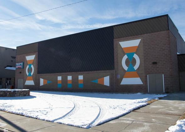 Plenty Coups High School in Pryor, Montana