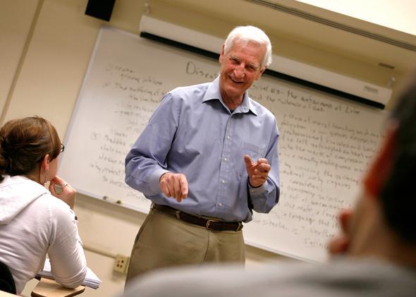Temple University Professor of Religion John Raines.