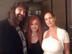 Mick Foley, Tori Amos, and Colette Foley.