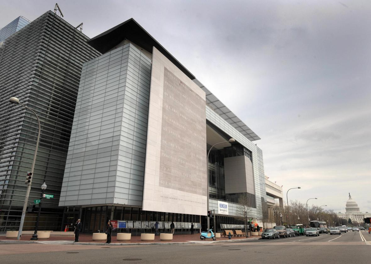 Museum supposedly dedicated to free press to hold big party for Donald Trump.