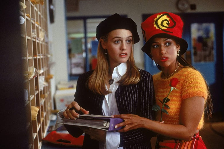 Alicia Silverstone and Stacey Dash.