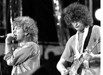 Robert Plant and Jimmy Page. Click image to expand.