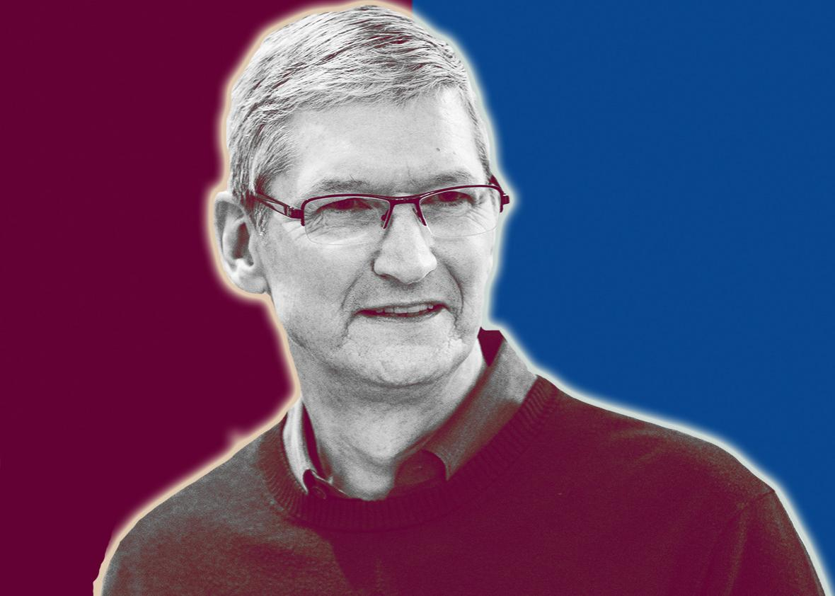 Tim Cook, CEO of Apple.