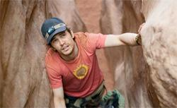 James Franco in 127 Hours. Click image to expand.